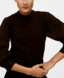 Puffed Sleeves T-Shirt