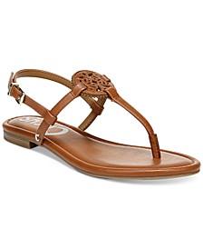 Women's Caya Medallion Flat Sandals
