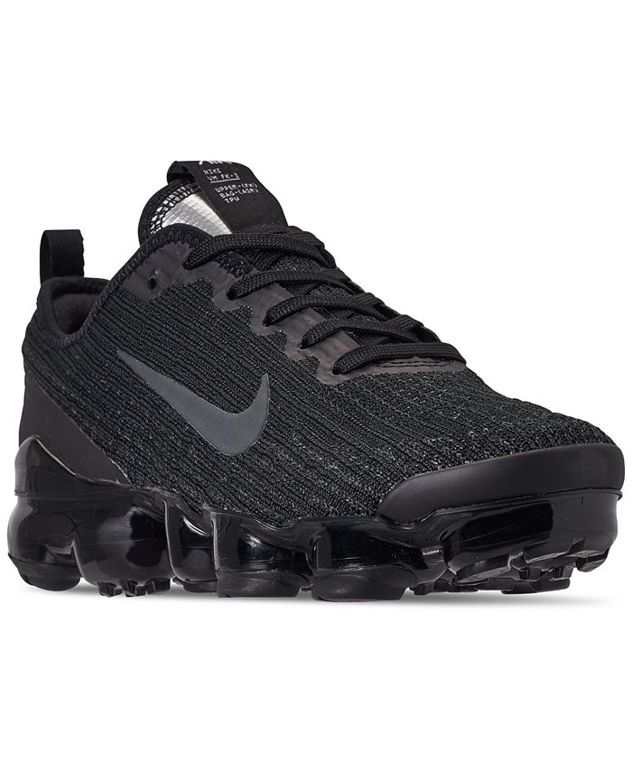 Nike Big Kids Air VaporMax Flyknit 3 Running Sneakers from Finish ...