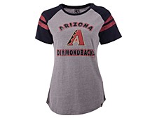 Arizona Diamondbacks Women's Fly Out Raglan T-shirt