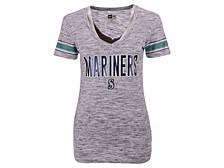 Women's Seattle Mariners Space Dye T-Shirt
