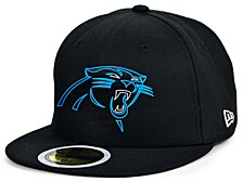 Little Boys Carolina Panthers Draft 59FIFTY Fitted Cap