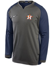 Men's Houston Astros Men's Authentic Collection Thermal Crew Sweatshirt