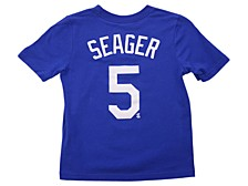 Los Angeles Dodgers Kids Corey Seager Name and Number Player T-Shirt