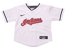 Cleveland Indians Toddler Official Blank Jersey