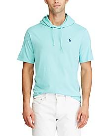 Men's Big & Tall Cotton Jersey Hooded T-Shirt