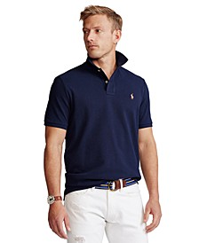 Men's Classic-Fit Mesh Polo Shirt