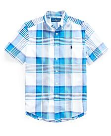 Big Boys Madras Shirt