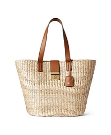 Straw Reese Tote