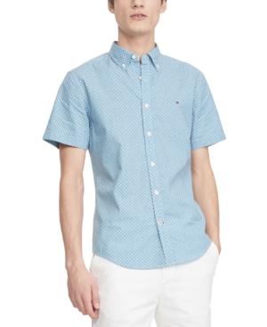 Tommy Hilfiger Men's Custom-Fit Charles Floral-Print Shirt