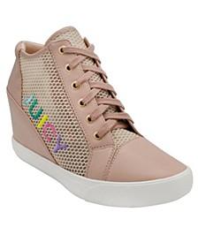 Jump Wedge Sneakers