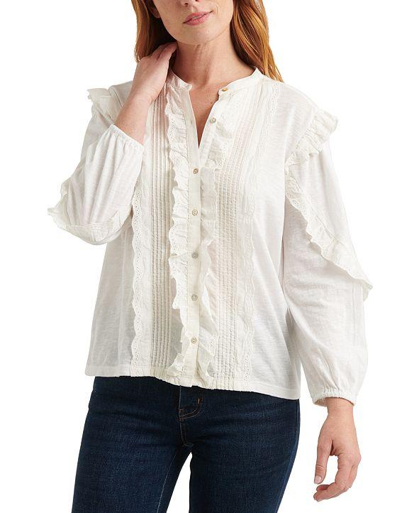 Lucky Brand Ruffled Shirt