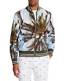 Men's Slim-Fit Tobago Reversible Bomber Jacket