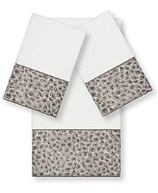 Textiles Spots 3 Piece Towel Set