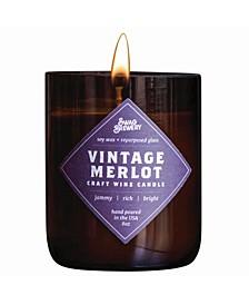 Vintage-like Merlot Wine Candle