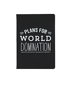World Traveler Plans For World Domination Journal