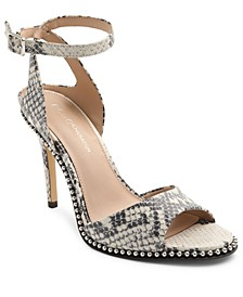 Jaxina Two-Piece Studded Sandals