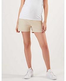Drawstring Women's Maternity Shorts