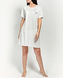 Ultra Soft Printed Sleepshirt Nightgown, Online Only