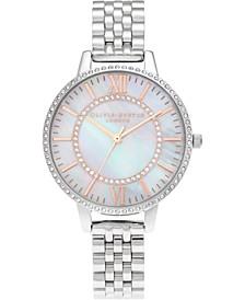 Women's Wonderland Stainless Steel Bracelet Watch 34mm