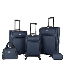 Bristol 5 Pc. Softside Luggage Set, Created for Macy's