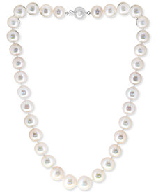 """EFFY® Cultured Freshwater Pearl (11-13mm) 17"""" Collar Necklace"""