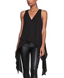 Draped Asymmetrical Top
