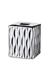 Silver Wave Tissue Cover Box