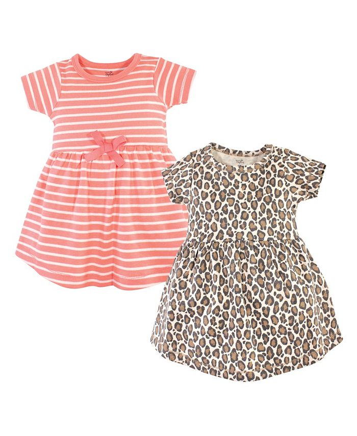 Touched by Nature - Girls Cotton Short-Sleeve Dresses Set