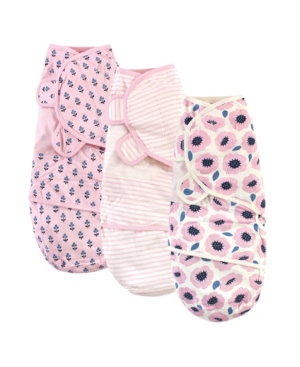Touched By Nature Baby Boys And Girls Swaddle Wraps In Pink