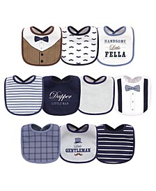 Baby Boys Bibs Pack of 10
