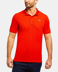 Men's Sport Raglan Short Sleeve Ultra Dry Polo Shirt