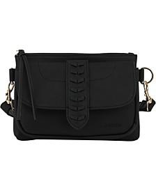 Women's Whipstitch Fashion Crossbody Bag