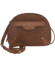 Women's Moto Dome Crossbody Bag