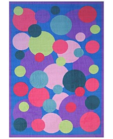 """Fun Time Popping Bubbles 19"""" x 29"""" Area Rug"""