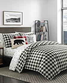 Eddie Buaer Mountain Plaid King Comforter Set