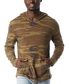 Men's Marathon Printed Pullover Hoodie