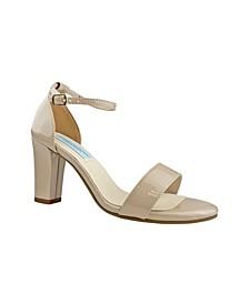 Maddox Block Heel Sandal