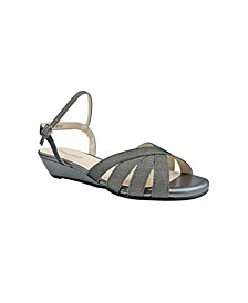 Emma Wedge Sandal