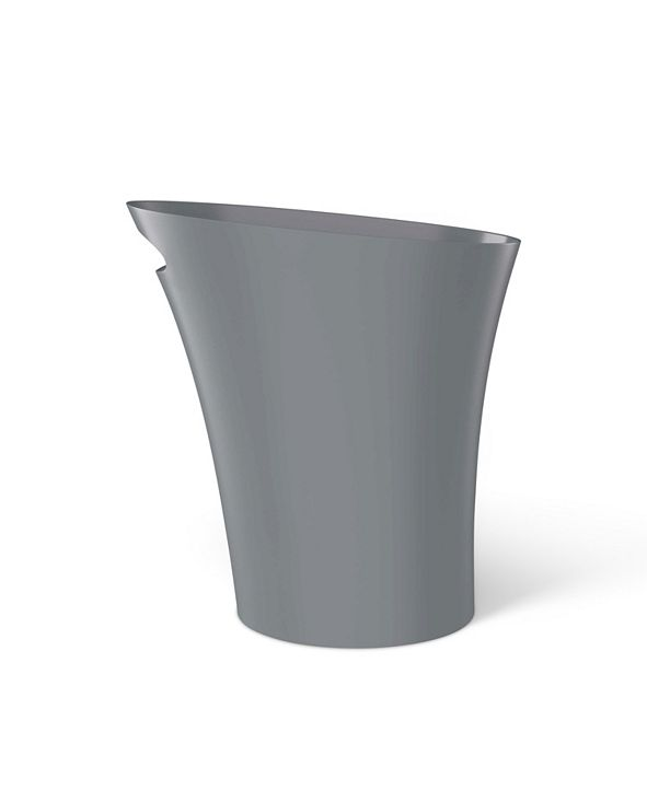 Umbra Skinny 2 Gallon Charcoal Trash Can