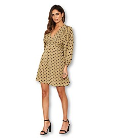 Women's Polka Dot Printed Dress