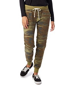 Printed Eco-Fleece Women's Jogger Pants