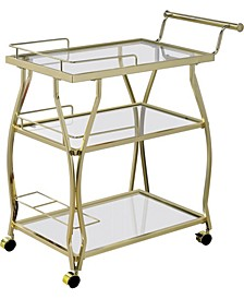 Pardona Contemporary Serving Cart