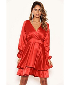 Women's Satin Dress