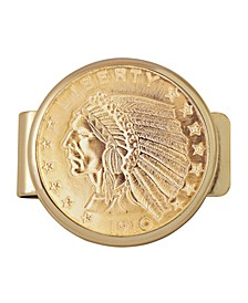 Tribute To 5 Dollar Indian Gold Coin Money Clip