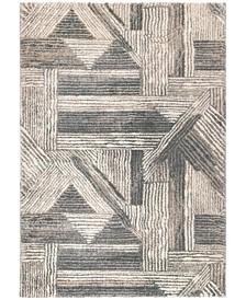 "Nirvana Atherton Neutral 6'7"" x 9'6"" Area Rug"