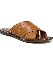 Women's Gretch Cross-Band Slide Sandals