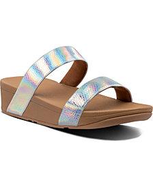 FitFlop Lottie Bubble-Embossed Sandals