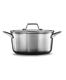NEW! Premier Stainless Steel 6-Qt. Stockpot & Lid