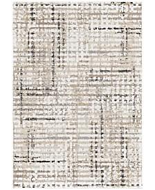 """Adagio Griddle White 7'8"""" x 10'10"""" Area Rug"""